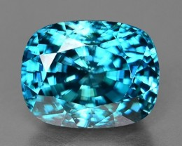 8.55 Ct Natural Zircon Awesome Color ~ Cambodia