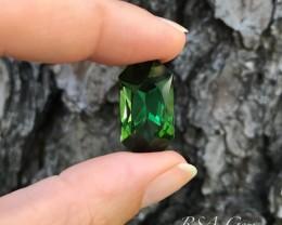 Green Tourmaline- 26.21 carats  GIA Cert.