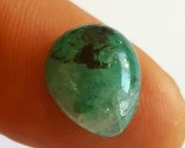 6.80 CTS - Emerald - Pear Cabochon - Brazil