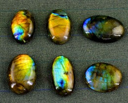 Genuine 192.00 Cts Amazing Flash Labradorite Gemstone Lot
