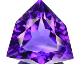 ~JEWELRY GRADE~ 5.14 Cts Natural AAA Purple Amethyst Fancy Cut Bolivia