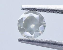 0.29 Crt Certified Diamond Faceted Gemstone (R33)