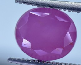 3.54 Crt GIL Certified Ruby Faceted Gemstone (R33)