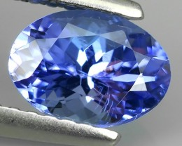 1.15 CTS GLITTERING LUSTER  COLLECTORS GEM NATURAL TANZANITE NR!