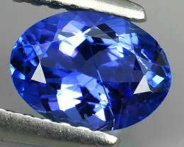1.00 CTS BEST-GRADE-SPARKLING-RARE-NATURAL-TANZANITE- NR!
