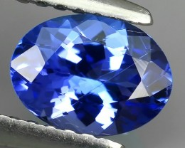 1.00 CTS GLITTERING LUSTER  COLLECTORS GEM NATURAL TANZANITE NR!