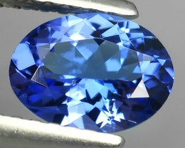 1.00 CTS EXCELLENT SPARKLING TOP RICH NATURAL  BLUE TANZANITE