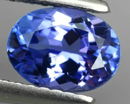 1.20 CTS GLITTERING LUSTER  COLLECTORS GEM NATURAL TANZANITE NR!