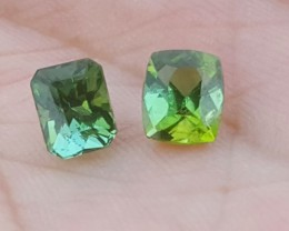 2.50 carats Blueish green color Tourmaline Gemstone From Afghanistan