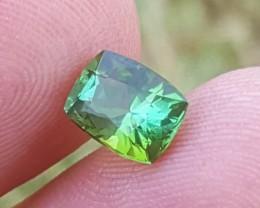 No Reserve 1.70 carats Blueish Green tourmaline Gemstone