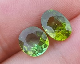 2.60 carats Blueish Green tourmaline Gemstone From Afghanistan