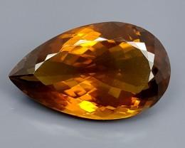 30.25Crt Madeira Citrine  Best Grade Gemstones JI41