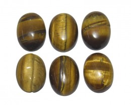 99.50 Ct TIGERS EYE WHOLESALE LOT UNTREATED NATURAL
