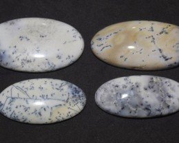 124.75 Ct NATURAL BEAUTIFUL DENDRITIC AGATE WHOLESALE LOT UNTREATED