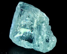 61.50 CT Natural - Unheated Sky Blue Aquamarine Rough Crystal