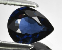 1.06 Cts Natural Deep Blue Spinel Pear Cut Sri Lanka