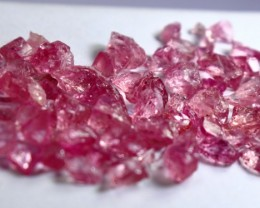 41.05 CT Natural - Unheated Pink Spinel Rough Lot