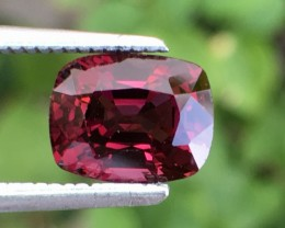 2 Cts Untreated Red Spinel Excellent Color and Cut ~ Burma As7