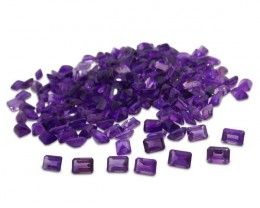 11 Stones 9.90 ct Amethyst 7x5mm Octagon - $1 No Reserve Auction