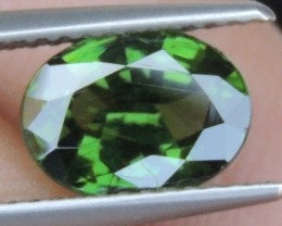 2.18cts,  Green Zircon, Eye Clean,