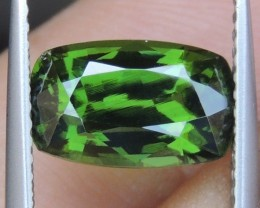 3.76cts,  Green Zircon, Eye Clean,