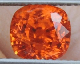 3.23cts   Mandarin Spessartite,  Untreated