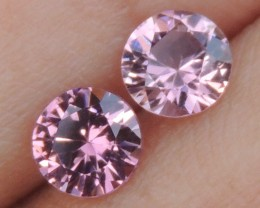 Pink Spinel from Burma ,  100% Untreated,