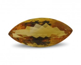 6.27 ct Marquise Citrine - $1 No Reserve Auction
