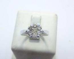 0.58ct Coronet Solitaire Diamond Ring