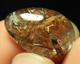 Natural Quartz Have a Sagenite Rutiles From Zagi Pakistan