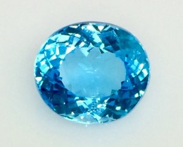 18.07 Crt Natural Topaz Top luster Facetted Gemstone. ( T 26)