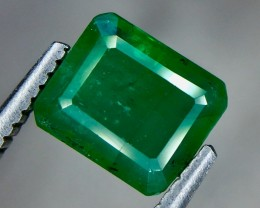 1.65 Crt Natural Emerald Faceted Gemstone.( AG 64)