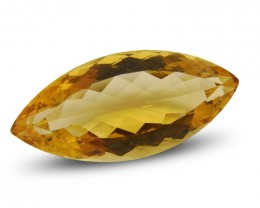 9.54 ct Marquise Citrine - $1 No Reserve Auction