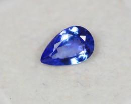 1.01ct Blue Tanzanite Pear Cut Lot GW2457
