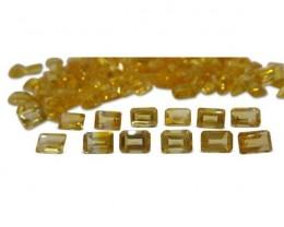 16 Stones - 15.2 ct Citrine 7x5mm Octagon
