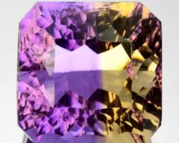 ~MILLENNIUM~ 8.10 Cts Natural Bi-Color Ametrine Octagon Bolivia