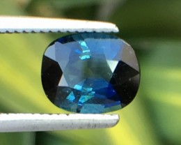 1.13 Cts Magnificent Top Color Sparkling Intense Blue Sapphire ~ As7