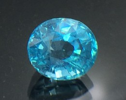 2.02 Cts Neon Blue Apatite ~ Insanity  ~ Untreated ~ As7