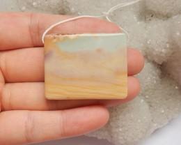 97.5ct Natural ocean jasper pendant bead customized jewelry  (18091331)