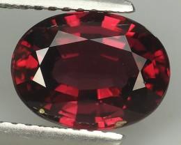 3.45 Cts_Oval Cut_Marvelous_Natural Rhodolite Garnet Wonderful~