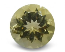 1.65 ct Heliodor 8mm Round