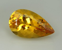 9.35 Cts AMAZING NATURAL RARE GOLDEN YELLOW BERYL GEM
