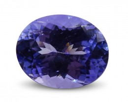 2.09 ct Oval Tanzanite