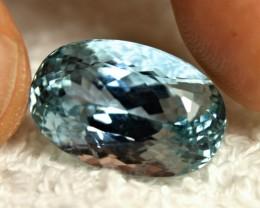 27.7 Carat VVS Himalayan Blue Spodumene - Gorgeous