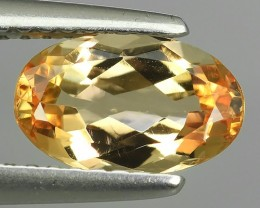 1.45 CT GENUINE NATURAL RARE-YELLOW-ORANGE-PRECIOUS- IMPERIAL-TOPAZ MORQUIS