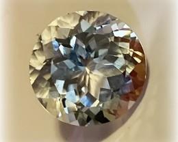 8.09ct Brilliant Silver White Topaz - Sparkling gem VVS NR