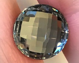 6.60ct Shimmering Cut Green Amethyst (Prasiolite) - NO RESERVE AUCTION