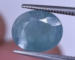 2.80 Crt Rare Grandidierite Faceted Gemstone (R35)