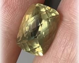 Handsome Jewellery Grade Citrine - Checker cut NO RESERVE