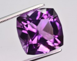 12.75  Ct Sparkling Color Natural Amethyst ~ Uruguay